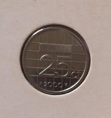 25 Cent 2000, UNC