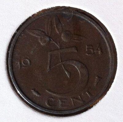 5 Cent 1954, UNC
