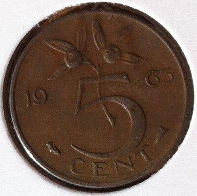 5 Cent 1963, UNC