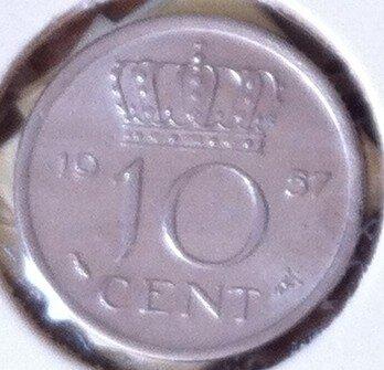 10 Cent 1957, UNC