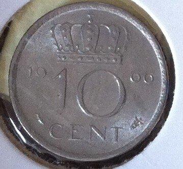 10 Cent 1966a, UNC