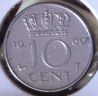 10 Cent 1969, Haan, UNC
