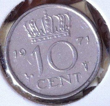 10 Cent 1971, UNC