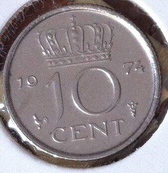 10 Cent 1974, UNC