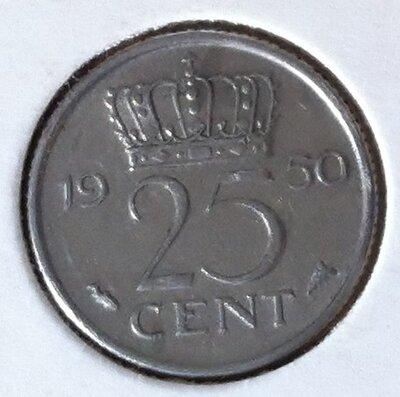 25 Cent 1950, UNC