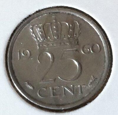 25 Cent 1960, UNC