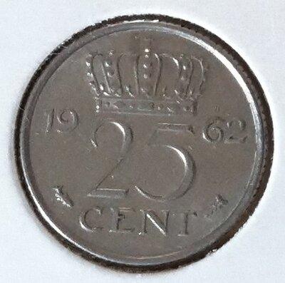 25 Cent 1962, UNC