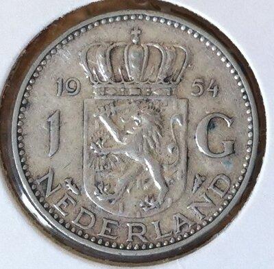 1 Gulden 1954, UNC