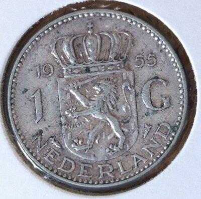1 Gulden 1955, UNC