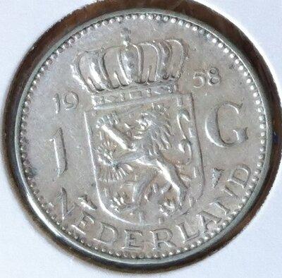 1 Gulden 1958, UNC