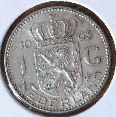 1 Gulden 1963, UNC