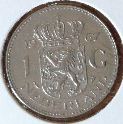 1 Gulden 1967, UNC
