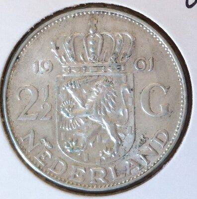 2½ Gulden 1961, UNC