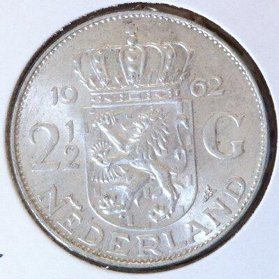 2½ Gulden 1962, UNC