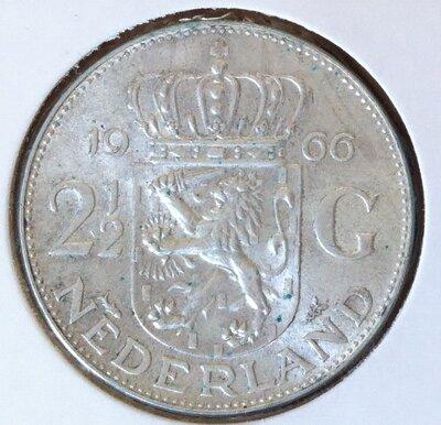 2½ Gulden 1966, UNC