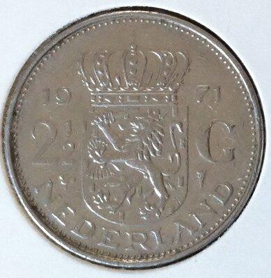 2½ Gulden 1971, UNC