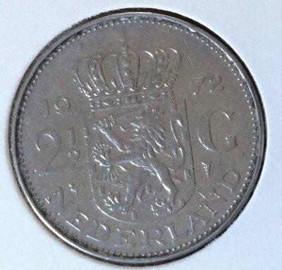 2½ Gulden 1972, UNC