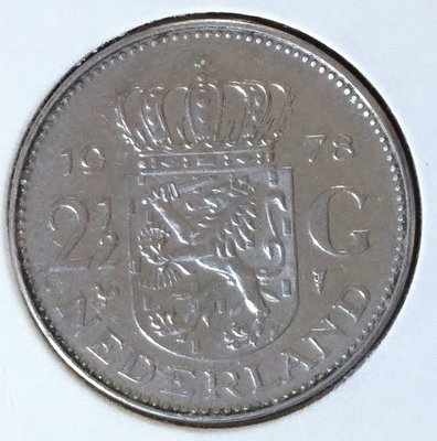 2½ Gulden 1978, UNC