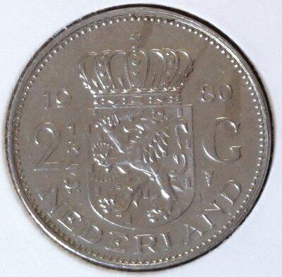 2½ Gulden 1980, UNC