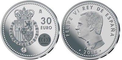 Spanje 30 euro 2014