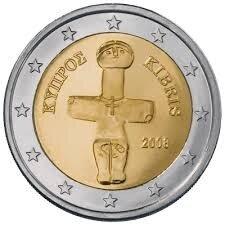 Cyprus 2 Euro Jaartal te selecteren