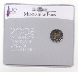 Frankrijk 2 Euro 2008