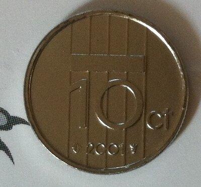Beatrix 10 Cent 2001, FDC
