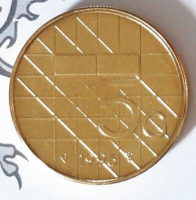 Beatrix 5 Gulden 1996, FDC