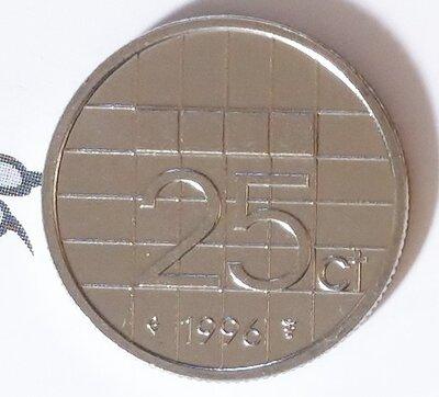 Beatrix 25 Cent 1996, FDC