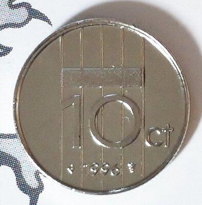 Beatrix 10 Cent 1996, FDC
