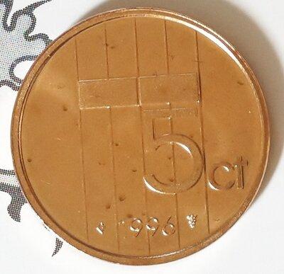 Beatrix 5 Cent 1996, FDC