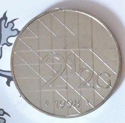 Beatrix 2½ Gulden 1998, FDC