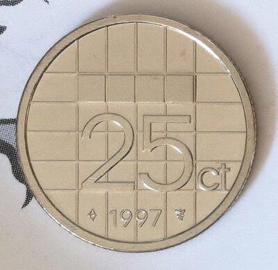 Beatrix 25 Cent 1997, FDC