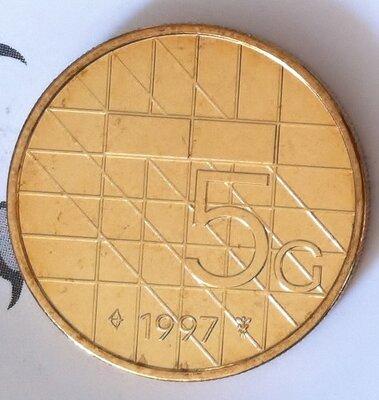 Beatrix 5 Gulden 1997, FDC