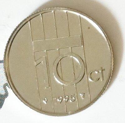 Beatrix 10 Cent 1995, FDC
