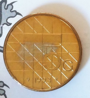 Beatrix 5 Gulden 1993, FDC