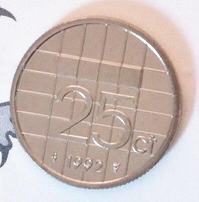 Beatrix 25 Cent 1992, FDC
