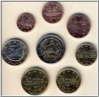 Griekenland UNC Set 2002 mix