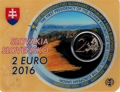 Slowakije 2 euro 2016
