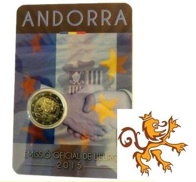 Andorra 2 Euro 2015