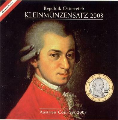 Oostenrijk BU-set 2003