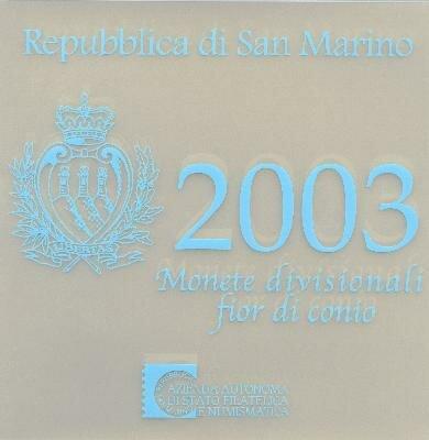 San Marino BU set 2003
