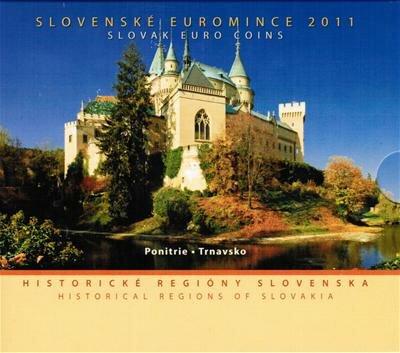 Slowakije BU set 2011 Regio's