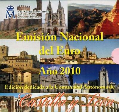 Spanje BU set 2010 Y'León
