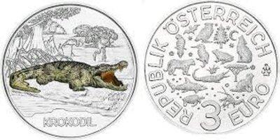 Oostenrijk 3 euro 2017