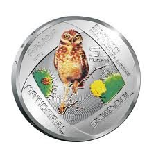 Aruba 2012 5 florin 'Choco' zilver Proof