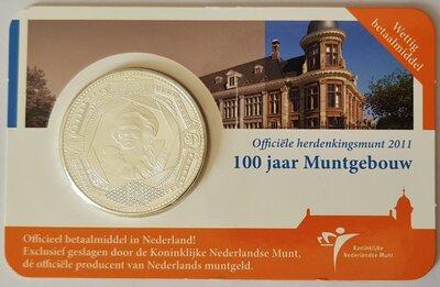 Nederland 5 Euro 2011 Coincard UNC