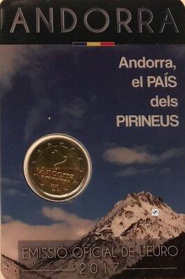 Andorra 2 Euro 2017