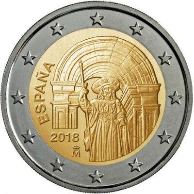 Spanje 2 euro 2018