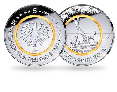 Duitsland 5 Euro 2018